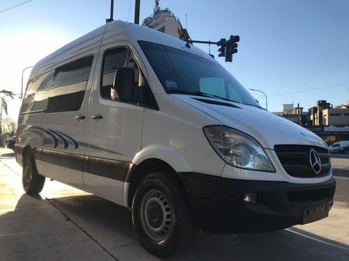 mercedes-benz sprinter 415 furgon mixto 4+1 techo alto 2012!