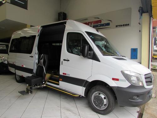 mercedes-benz sprinter 515 com acessibilidade