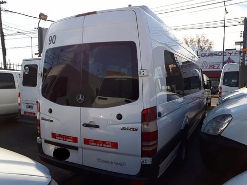 mercedes benz sprinter 515 minibus 19+1 año 2012