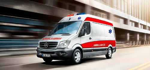 mercedes-benz sprinter ambulancia 311 cdi