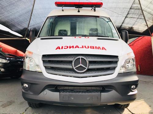 mercedes-benz sprinter ambulância uti