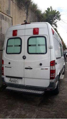 mercedes-benz sprinter furgão ambulância