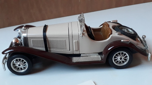 mercedes benz ssk 1928 escala 1/24 burago
