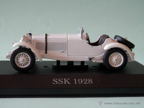 mercedes benz ssk 1928  ixo altaya unico escala 1/43
