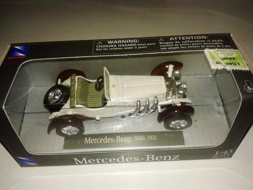 mercedes benz sskl 1931 escala 1/43 newray