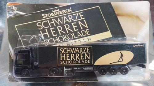mercedes benz trailer publicitario aleman stollwerck blister