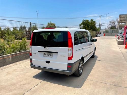 mercedes benz vito 110 cdi minibus año 2014