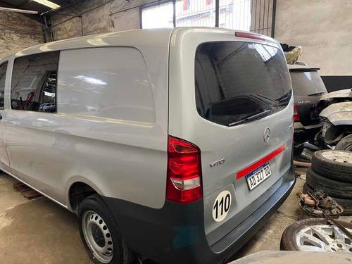 mercedes benz vito 111 cdi furgon mixto chocado  c/ repuesto