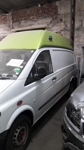 mercedes benz vito 113 ambulancia 2014