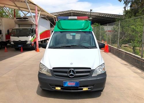 mercedes benz vito 113 cdi ambulancia año 2015