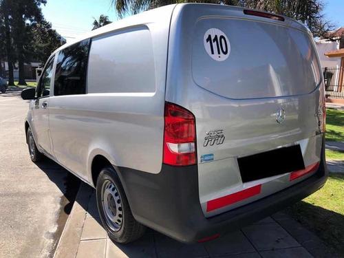 mercedes-benz vito 1.6 111 cdi furgon mixto 2017 permuto