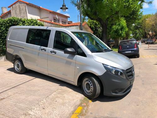 mercedes-benz vito 1.6 111 cdi furgon mixto aa 114cv 0km!!!!