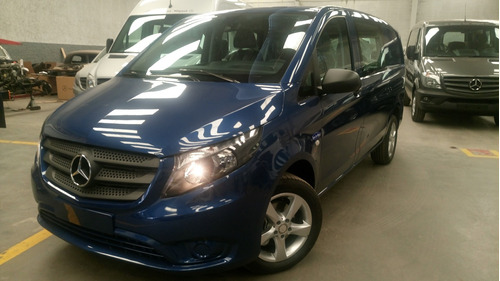 mercedes benz vito 1.6 furgón mixto plus azul