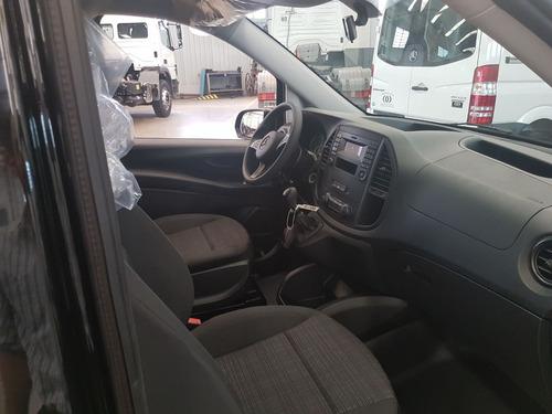 mercedes benz vito mixto 4+1 diesel 2019 negro