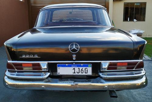 mercedes-benz w111 220s / 220sb 1960