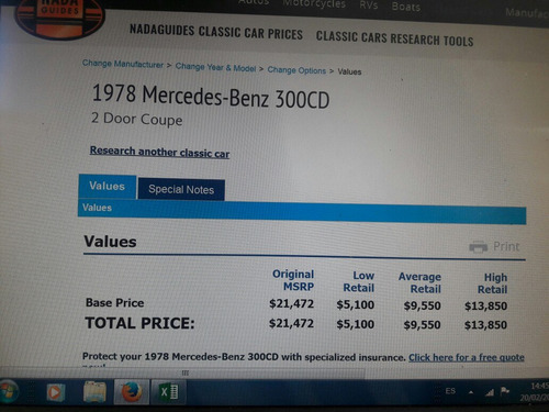 mercedes benz w123 300 cd 1978 coupe diesel 2 puertas