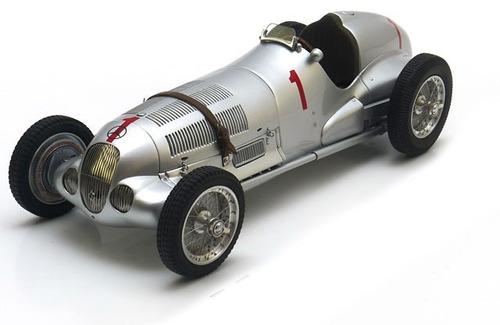 mercedes benz w125 1937 1:18 modelo a escala de lujo
