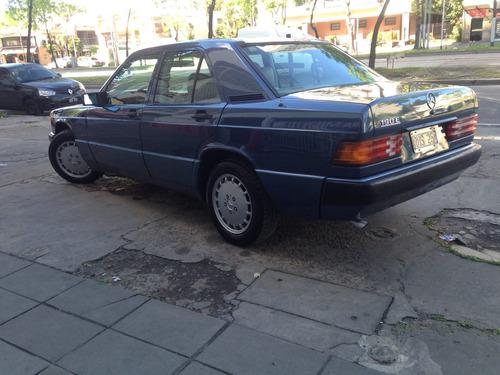 mercedes benz,190 e, 1989,vendo o permuto,excelente estado.