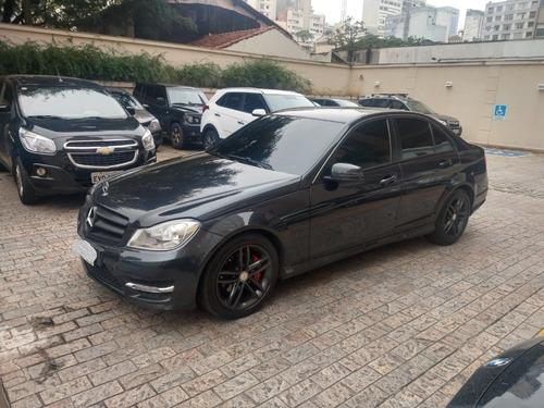 mercedes c 180 sport  turbo gasolina ano 2013