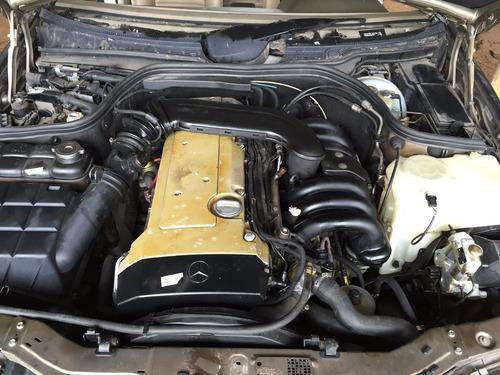 mercedes c 280 sucata motor cambio radiador 6 cc peças