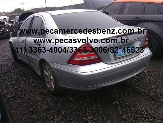 mercedes c180 c200 c230 k kompressor sucata / peças / motor