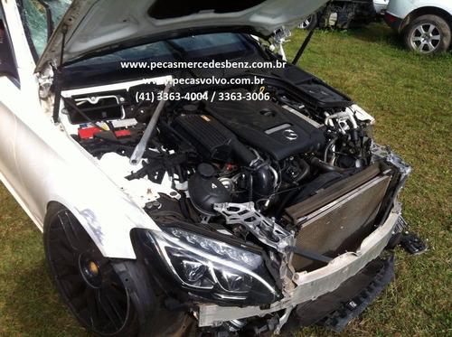 mercedes c180 c200 c250 2016 turbo lanterna/motor/parachoque