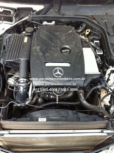 mercedes c180 c200 c250 nova turbo lanterna/motor/cambio