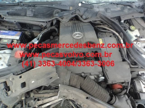 mercedes c200 c180 c230 kompressor em peças sucata / motor