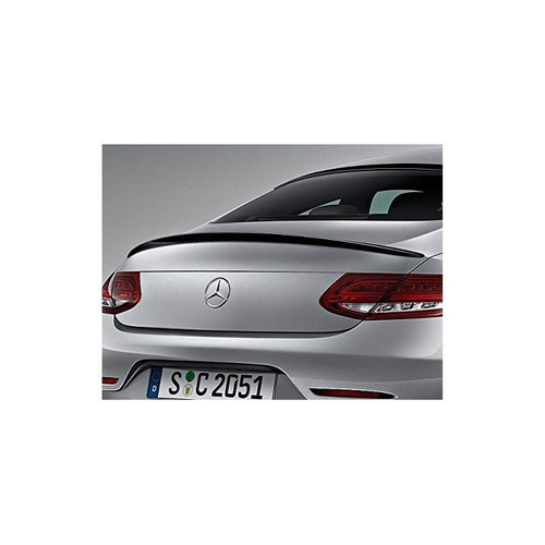 mercedes c205 c class coupe boot trunk tapa spoiler gloss ne