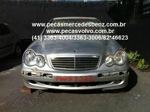 mercedes c230 c180 c240 kompressor sucata / peças / motor