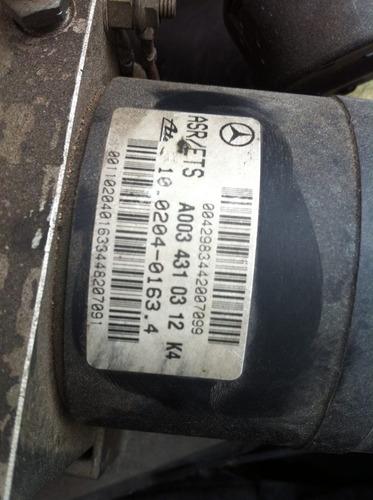 mercedes c230 kompressor 99 sucata cambio modulo abs