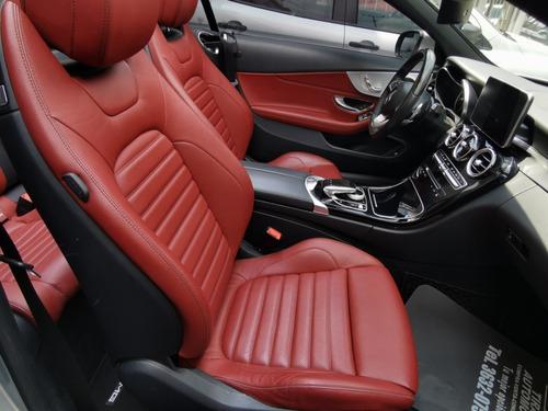 mercedes c250 cabrio impecable 2017