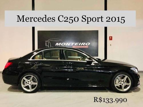 mercedes c250 sport 2015 - aceitamos troca e financiamos!