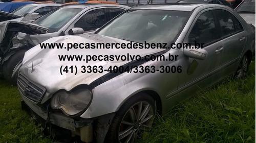 mercedes c320 c180 c240 kompressor sucata / peças / motor