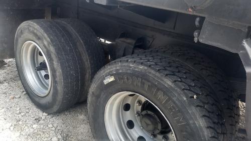 mercedes- caminhão 1214 poli guindaste caçamba broque