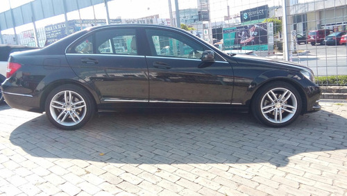 mercedes clase c 200 sport, modelo 2013, color negro