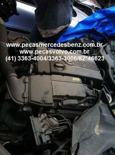 mercedes clc200  kompressor em peças sucata