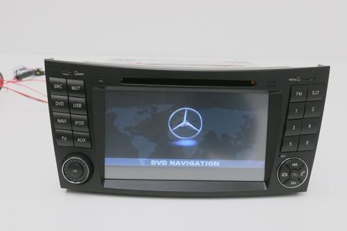 mercedes e200 e350 radio dvd gps original  2007-2011 camar