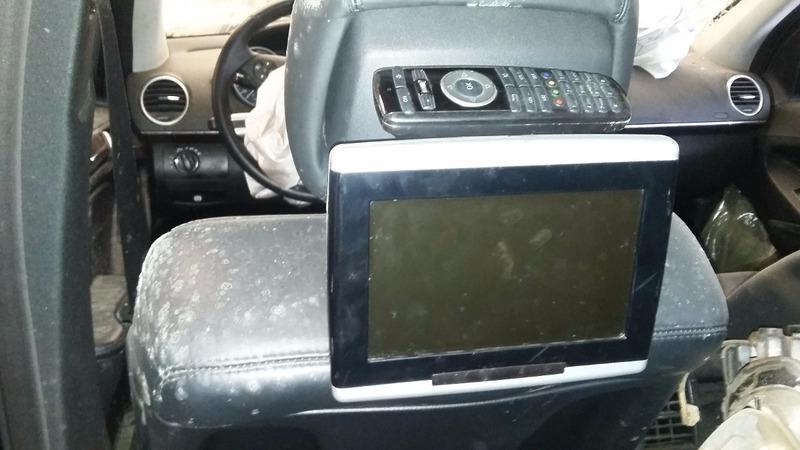 mercedes e320 multimidia original com midias traseiras