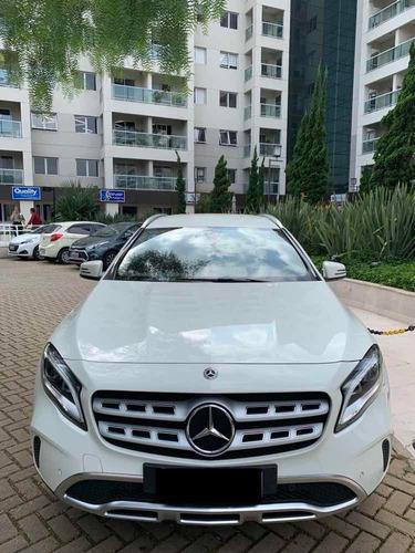mercedes gla advance 1.6 turbo 2018 branca ùnico dono