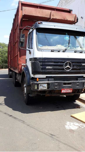 mercedes mb 2638 ano 1997 motor novo do mb 1941 r$ 95.000.
