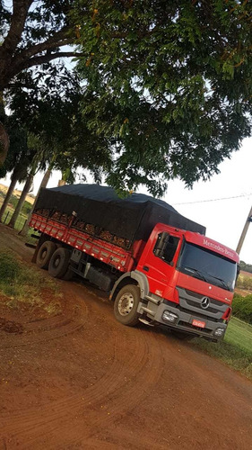 mercedes mb 3131 6x4 2014 revisado r$ 245.000 no chassis.