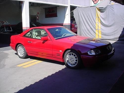 mercedes sl500 v8