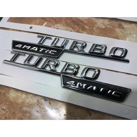Mercedes Turbo 4matic Emblema Mod.2014/2016 Frete Grátis