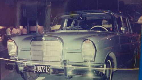 mercedez--benz 220s 1965 4 puertas unico