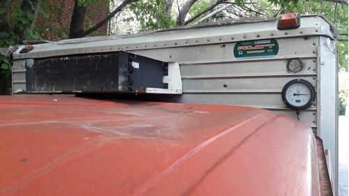 mercedez benz 608 caja termica y equipo de frio funcionando