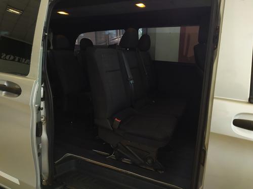 mercedez benz vito 1.6 furgon mixto año 2016 color gris