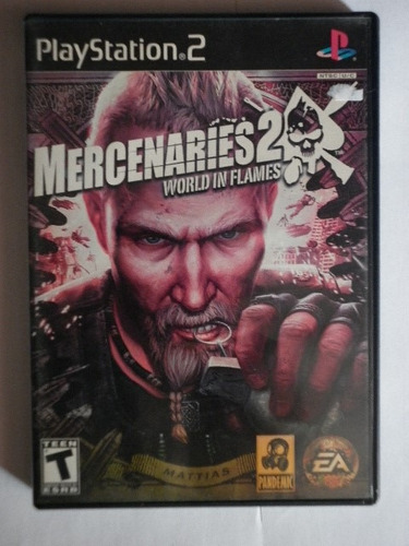 mercenaries 2  para el play station 2