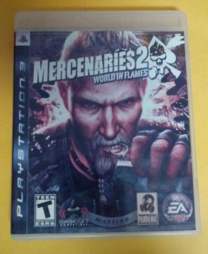 mercenaries 2 worls in flames playstation 3