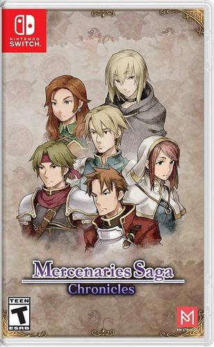 mercenaries saga chronicles switch - sellado*